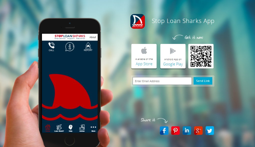 We've launched a new smartphone app to make it quicker and easier for people to report loan sharks and access support services 📱  Find out more and download it at https://t.co/F0ONQ47k4x https://t.co/osPqe7OvZF