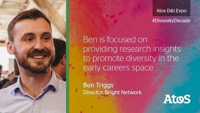 Ben from @brightnetwork will be speaking about social mobility in the #diversitydecade -...