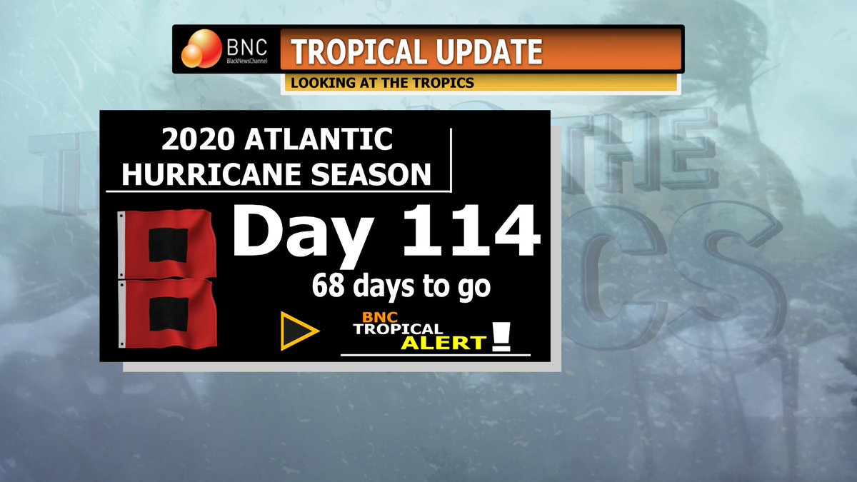 Tropical Update, Day 114: The remnants of Beta will continue to bring rainfall across the South.  CAUTION advised for travel!  Teddy & Paulette will weaken in the Atlantic during the next 24 hours.  #bnctropics #BNC #BlackNewsChannel https://t.co/GNQQsGvoDx