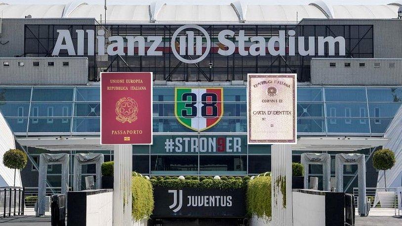 Breakingnews: aggiornato l'ingresso dell'#AllianzStadium coi nuovi titoli ottenuti sul campo. #Suarez #perugiagate https://t.co/QNExnisORF