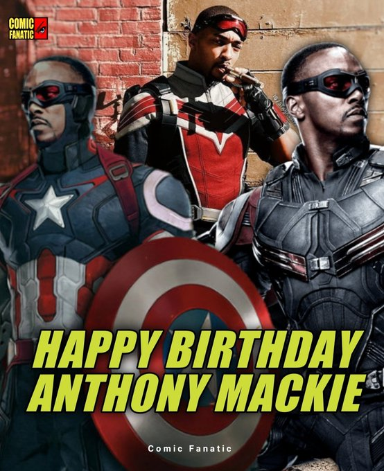 Happy 42nd birthday, Anthony Mackie!