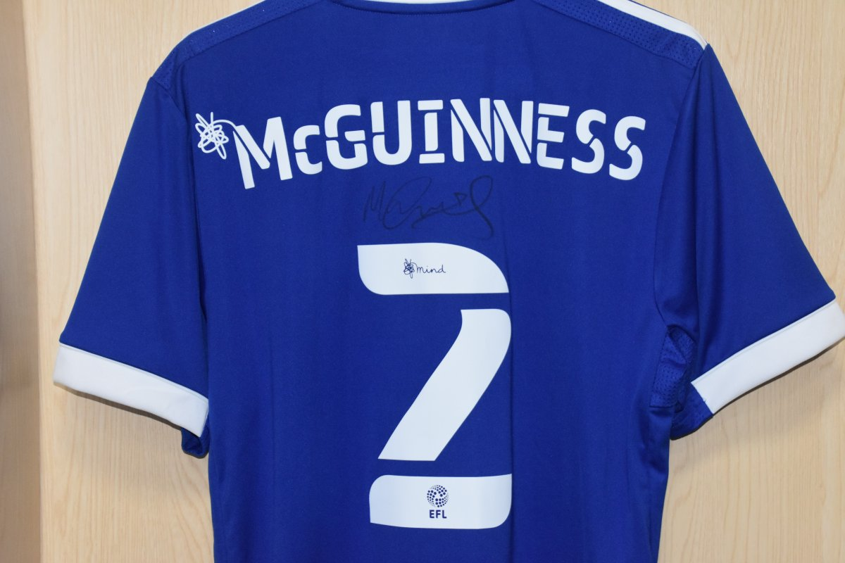👌 Win a signed @MarkMcguinness0 shirt... To be in with a chance, simply 𝙍𝙏 this post. The winner will be announced tomorrow at midday. 🤞 Good luck! #itfc