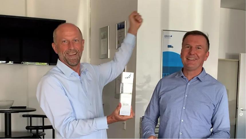 idem telematics gewinnt den #TelematikAward 2020 für Kühltransporte! #idemtelematics https://t.co/qz7cIk1BgE https://t.co/HSzv0Ibk6A