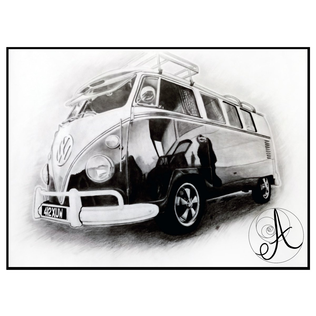 A comission I did a couple of years ago. Those reflections 😵 (A3, Graphite)  #drawings #art #drawing #draw #artist #sketch #artwork #illustration #artistsoninstagram #sketchbook #fanart #sketching #arts #artoftheday #pencildrawing  #vwbus #vw #vwt #volkswagen #t #aircooled #van https://t.co/LhltvGYYWu