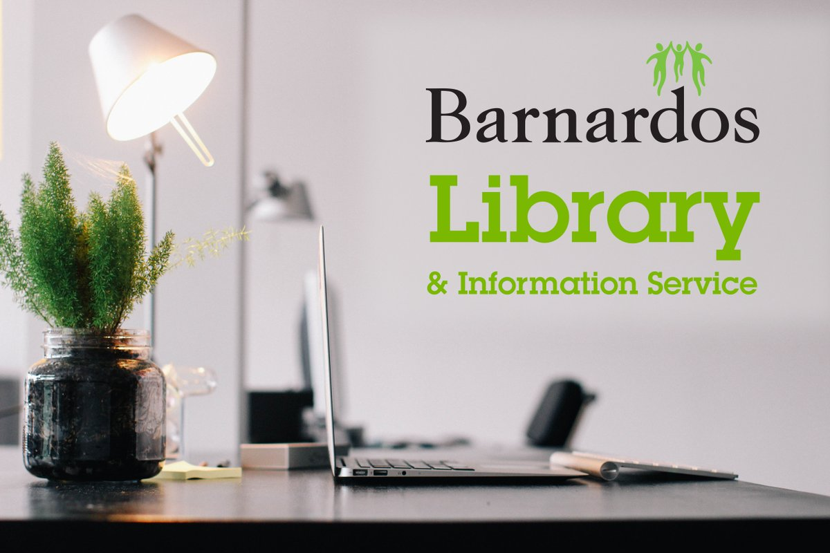 If you need good quality information about a range of child-related issues, why not join the Barnardos library?   You can join as a full member for only €60, students €35 or online only package for only €30 per year https://t.co/NmTuYuF4Rm https://t.co/VziNxY6vHk