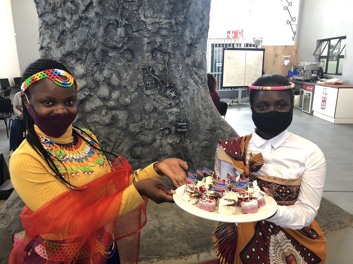 Celebrating a colourful Heritage day in the Hospitality Academy. #tourismacademy @GwfOnline @HazyviewDLC https://t.co/V1e8ju0N6I