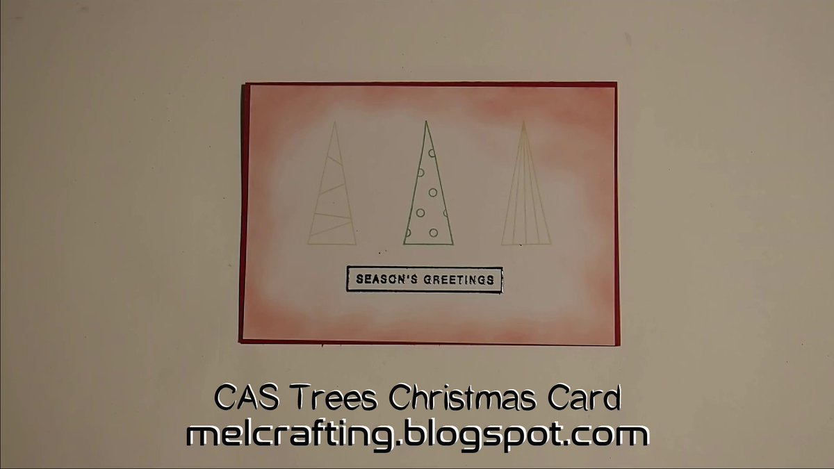 Latest christmas card - simple trees #cardmaking #CAS #christmas #card #simple #clean #trees #red #crafty #papercraft #outline @CraftingMel  https://t.co/0FxCurUFaB  https://t.co/AwzgJnzDwj https://t.co/PUmWrtxSfZ
