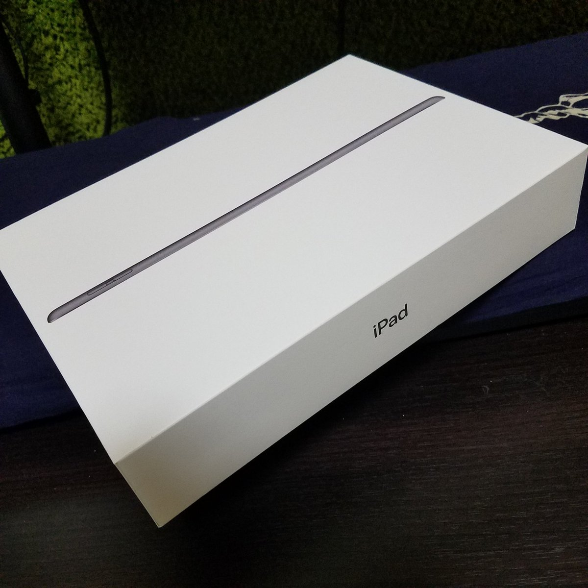 ほぼ配信にしか使わないので一番安いやつ。  #iPad #第8世代 #第7世代は10円安かった https://t.co/MqFZLZqNts