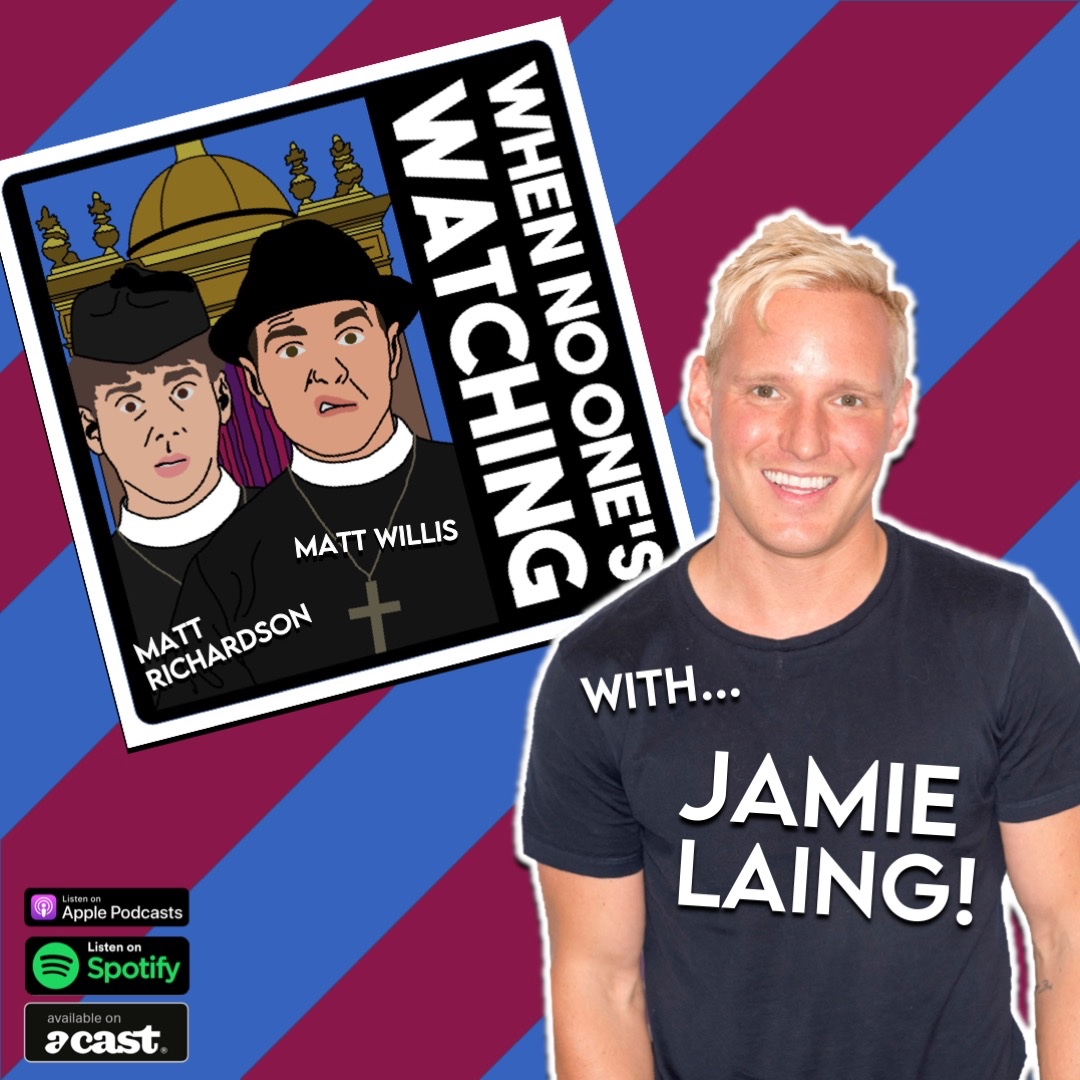 This week on the podcast @mattjwillis and I have the gorgeous @JamieLaing_UK - who is excellently funny - download it and subscribe here: https://t.co/WjXfqsqVlo https://t.co/Eb2KCqhH6g
