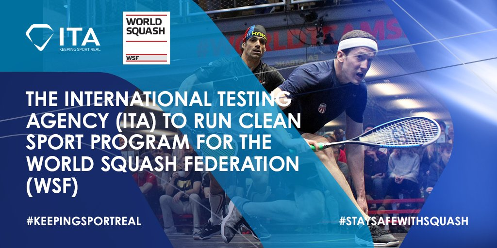 test Twitter Media - The @IntTestAgency will manage our #antidoping programme from January 2021 onwards - full story ⬇️  https://t.co/9d2gAjfI39  #squash #KeepingSquashClean https://t.co/LFBqGFjrGV