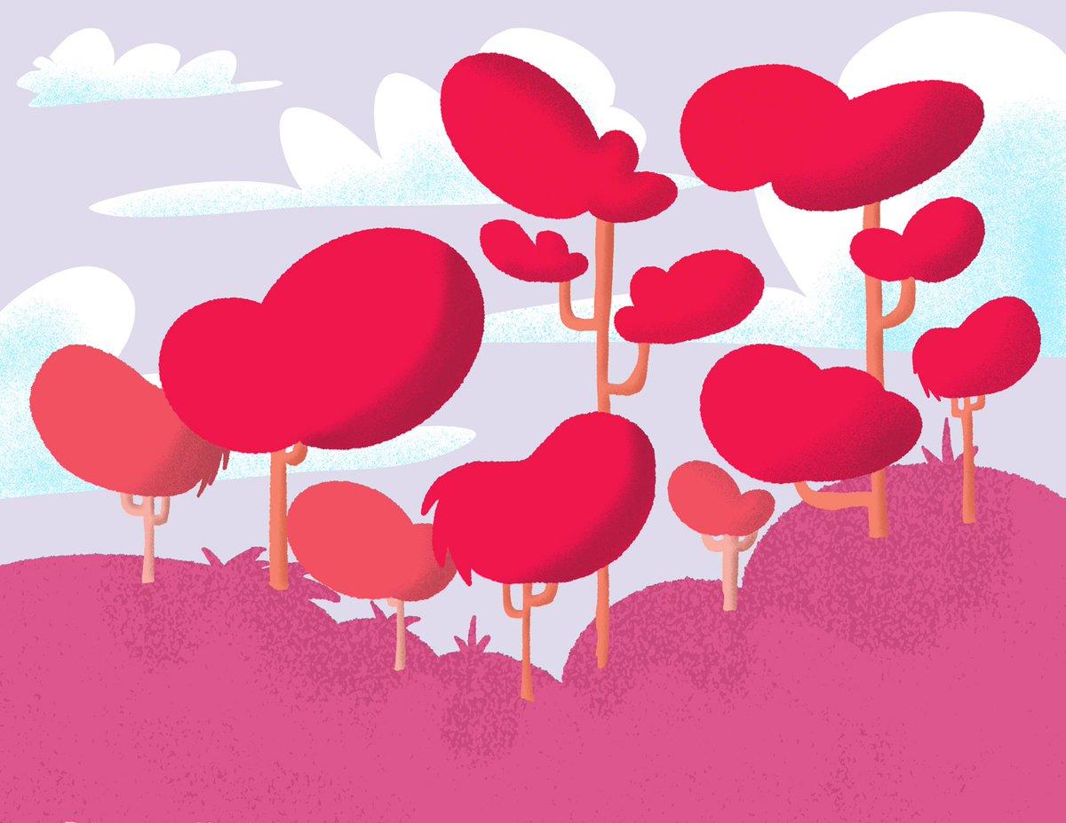 trying doing more backgrounds and playing with bolder colours #illustration #IllustratoroniPad #illustrationartists #Procreate #cartooning #background #cartoonbackground #environment https://t.co/qnC1MBW9S9