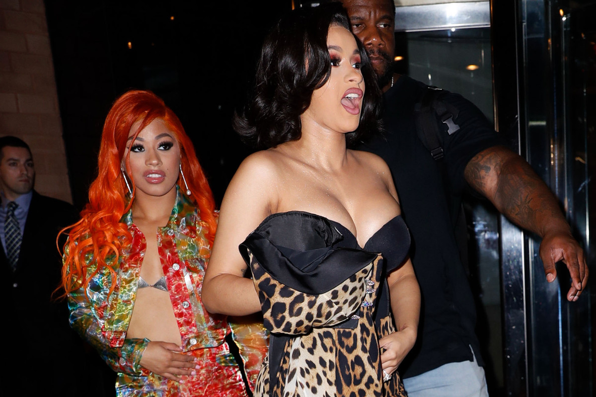 Cardi B faces defamation suit for blasting 'racist MAGA supporters' after beach fight https://t.co/hN3dyhxszO https://t.co/4J93dRNuJZ
