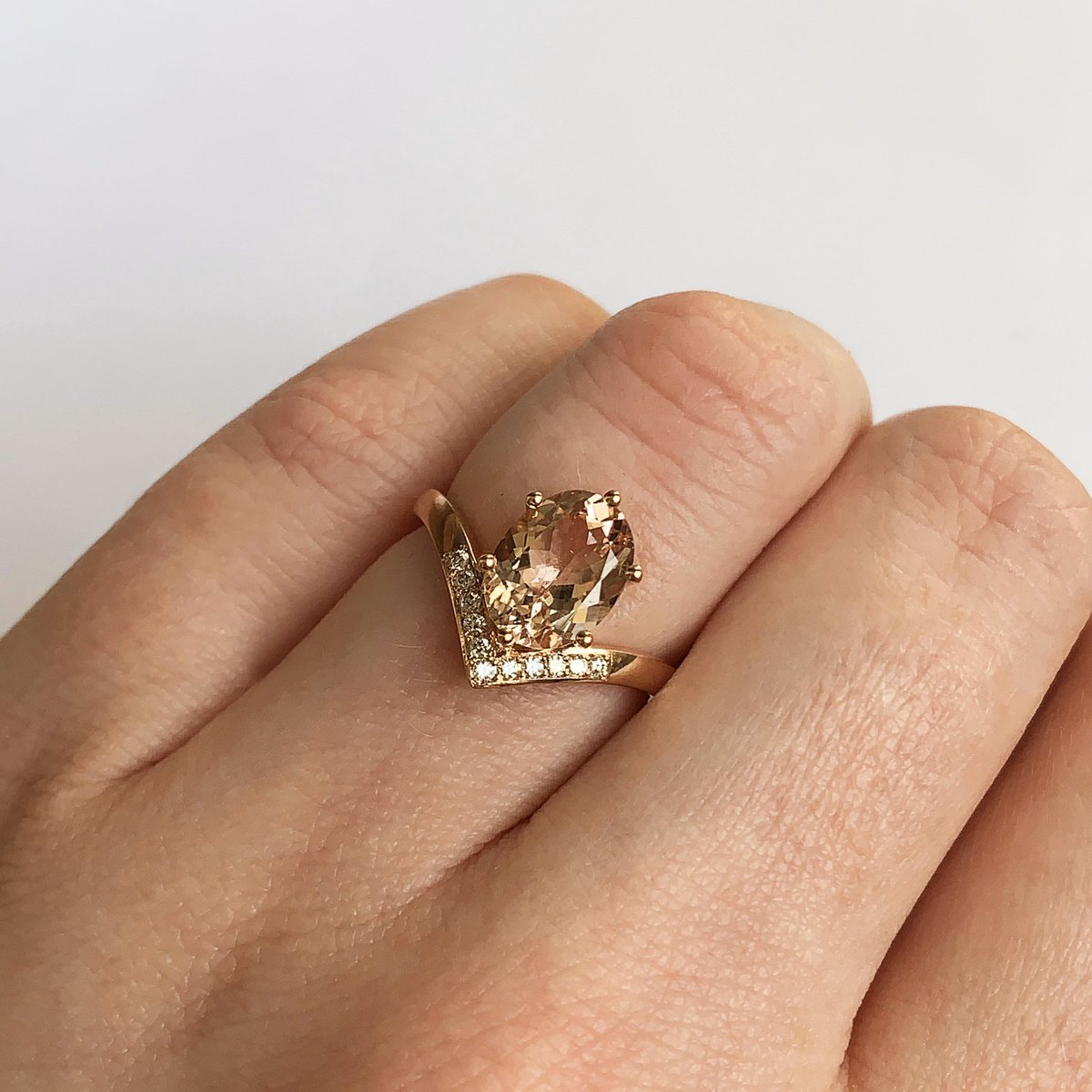 test Twitter Media - Congratulations to the lucky lady that received this morganite & diamond ring in celebration of her graduation from modern languages! Best of luck starting your MA this month during these difficult times. But don't worry, this new ring will be there to perk you up. 😉😊🎓 https://t.co/oxlzUrbpcl