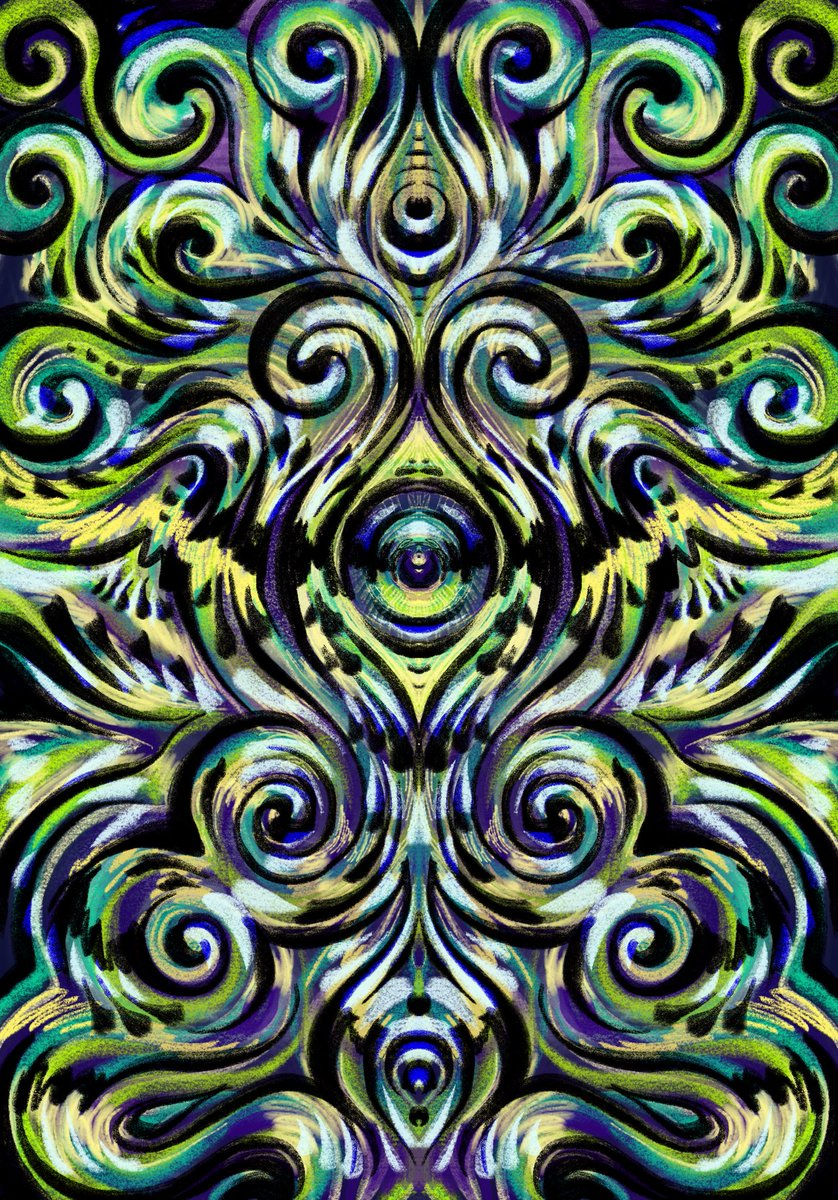 I tried #Procreate and loved it!  #art #illustration #digitalart https://t.co/DFCMgYDMLY