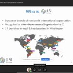 Image for the Tweet beginning: Great presentation from Ignacio Garamendi Executive