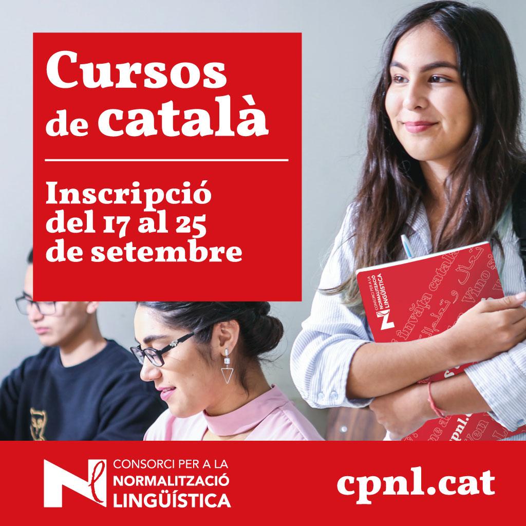 Inscripcions als cursos de català del #CPNL.  Recordeu que us podeu inscriure en línia fins al dia 25 de setembre: https://t.co/4kQc3nLjCa  Més informació: https://t.co/4zdWDB6Owp #aprendrecatalà #CPNL  @llenguacatalana @cultura_cat https://t.co/c3bSd05XG2