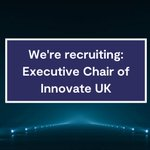 Image for the Tweet beginning: Could you be @innovateuk next