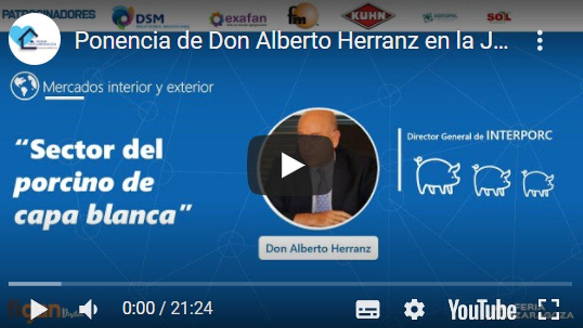 Os dejamos la 3ª parte de la ponencia de D. Alberto Herranz, Director General de @interporc  👉 https://t.co/W4e7J9ZTPh donde nos cuenta la actualidad y previsión de la evolución del sector PORCINO DE CAPA BLANCA. Próximo martes,ponencia de D. Raúl Gómez-UVESA.@feriadezaragoza https://t.co/xISfgO8fCv