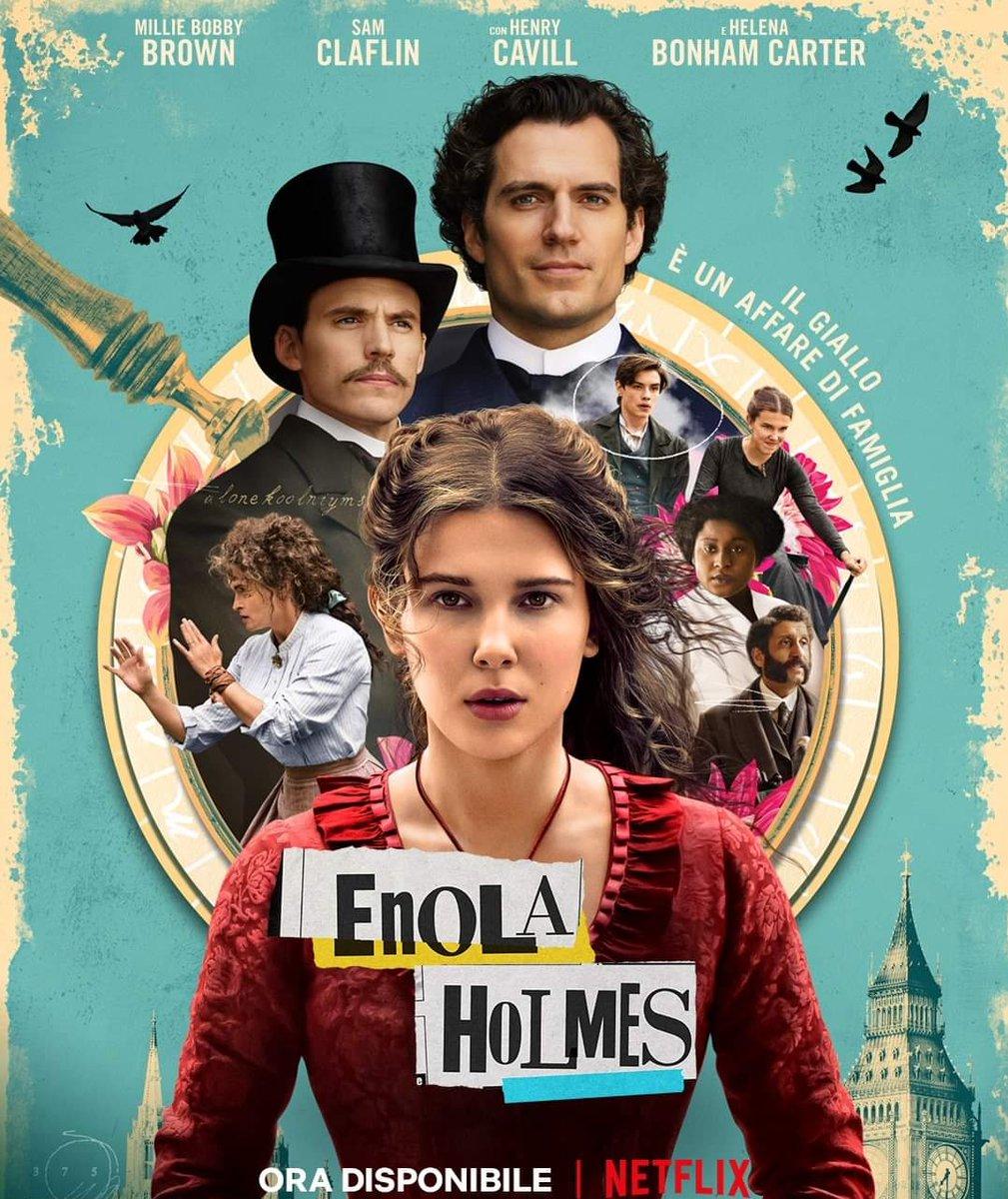 #EnolaHolmes