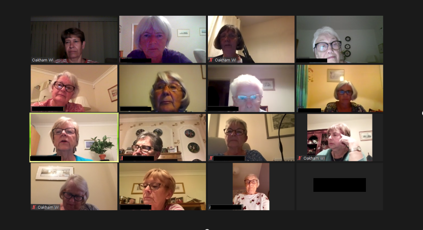 Oakham WI enjoyed our monthly meeting via Zoom with a session of face yoga and a quiz. Good to meet up and hear about the many other events planned. @WomensInstitute