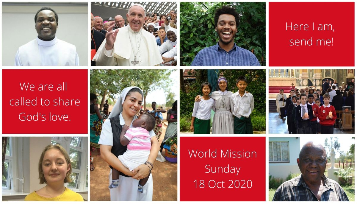What will your #Mission be this October? #WorldMissionSunday is less than a month away! Will you be there for #Missionaries so they can be there for the world? #WMS https://t.co/oBGvlXwMaM #HereIAm #answerthecall https://t.co/5wxEAOgrBz