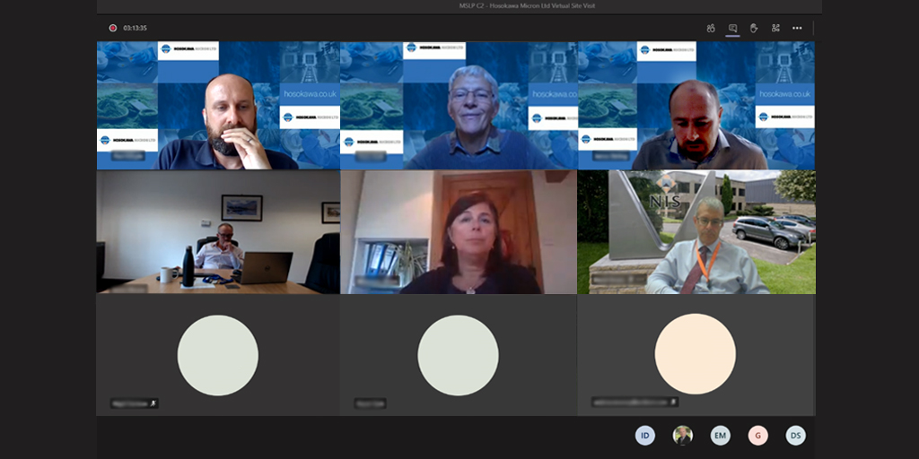Today's #MadeSmarter Leadership Programme delegates have taken part in a virtual site visit to Hosokawa Micron  @HosokawaGen4 to learn from them how #digitalisation has brought value to their business.  #DigitalTechnology #SmartManufacturing #industry40  @MadeSmarterUK #MSLP https://t.co/9xTGr7U29Y