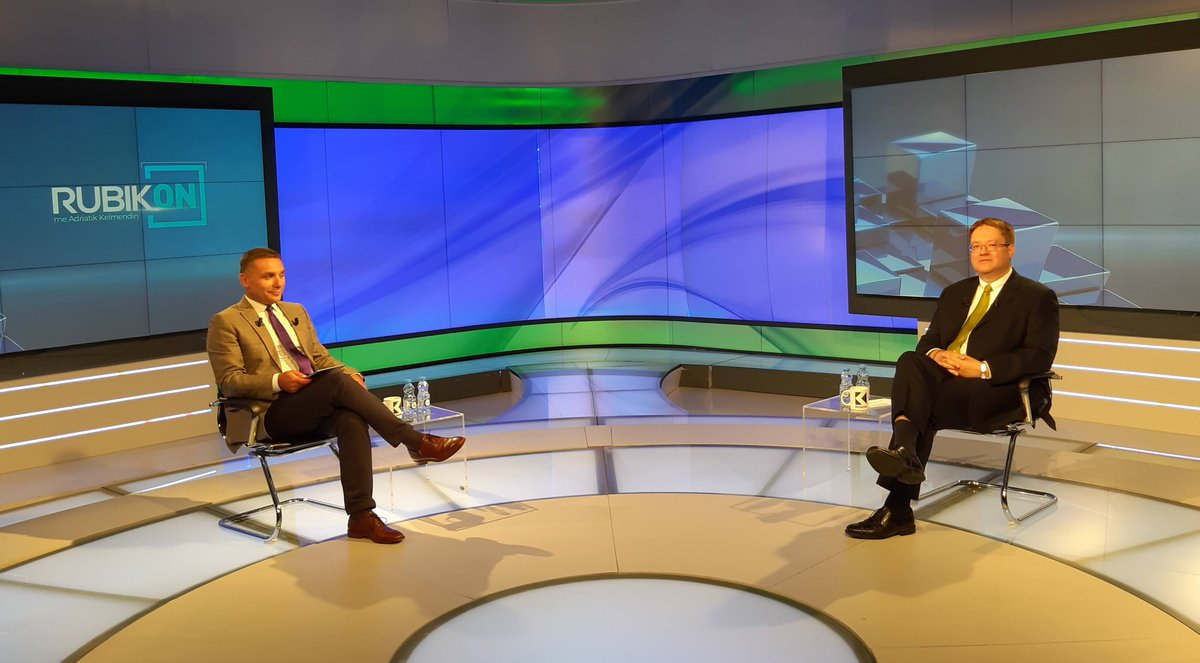 Tune in to Klan Kosova tomorrow at 20.45 and watch my interview with Adratik Kelmendi on Rubikon. https://t.co/ww7dBRwRC5