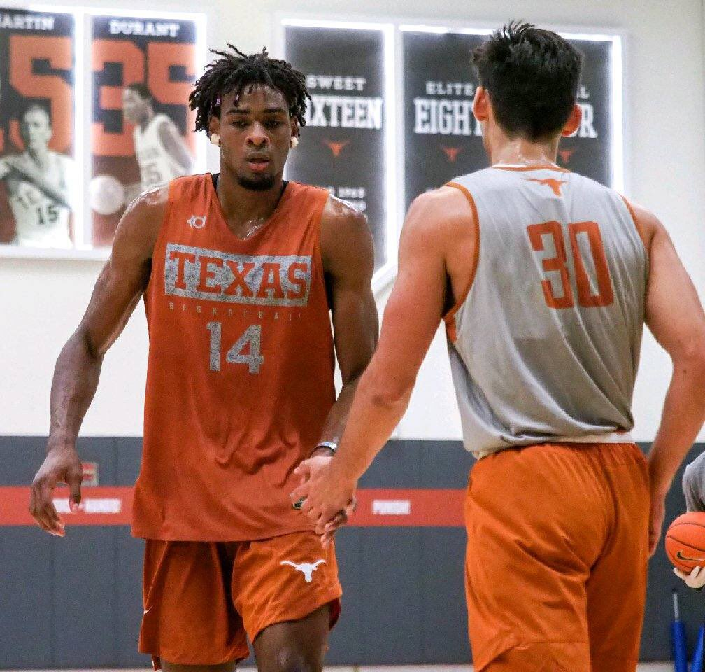 Constantly pushing each other to get better @TexasMBB #RETWEEET