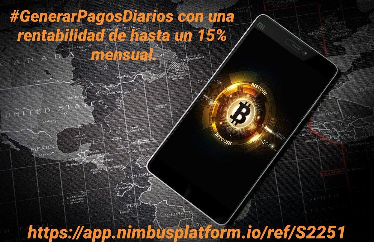 @mattunchi #Blockchain #Bitcoin #BTC #Dinero  🚀BITCOIN https://t.co/WEuPOPcqlI  Empieza ya! a #comprar #bitcoin, sacándole una rentabilidad de hasta un 15% mensual. #ConPagosDiarios. Regístrate Gratis:👇 https://t.co/HjOqxM3gwX https://t.co/yZFbCFaipI