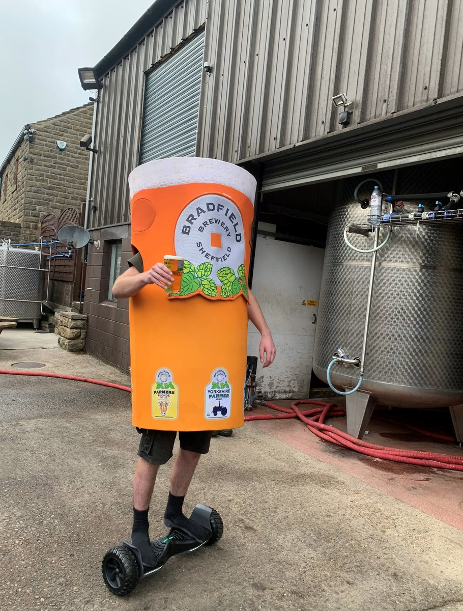 The Brewers are hanging in there! Not long to go until the #24hour #brewathon is complete!! We thought we'd have a little fun to spur them along with a #Captionthis  Off you go................... #CaptionThis #celebrating5k #24hourbrewathon https://t.co/WDlf2Ik6Dm
