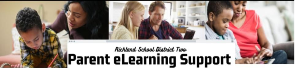 If your student needs help with e-learning, please go to Richland District Two's Parent eLearning Support Page. There are tutorials on Gmail, Google Classroom, Google Meet, Chromebook support, and many other topics. The link is on https://t.co/ol5kWlfV05 https://t.co/oqYaoPBOfz
