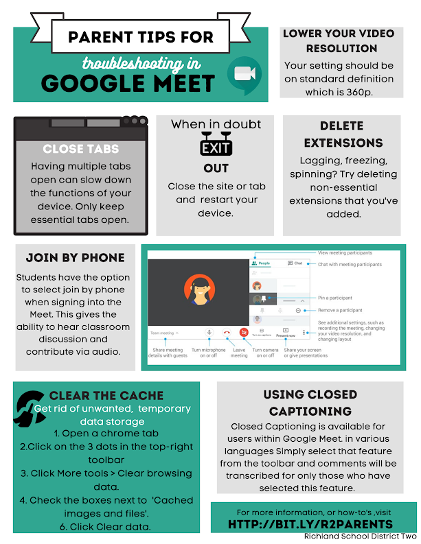 Parent Tips For Troubleshooting Google Meet https://t.co/8Z6F2Q9DNW