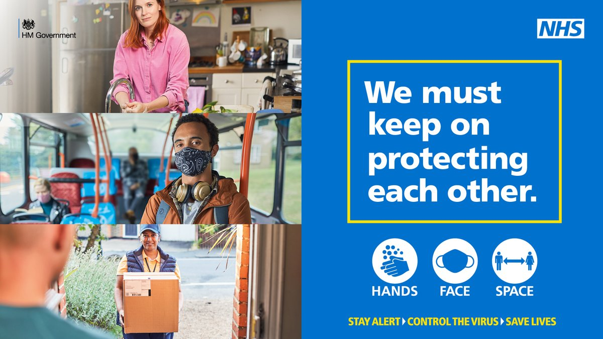 Wearing a face covering can help to #ControlTheVirus and protect others in #Oadby, #Wigston & #SouthWigston. However, some people are exempt due to a disability or medical condition - please don't judge. https://t.co/jg680V6V4b