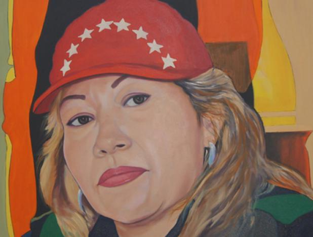 #EspecialesVP || 23 de septiembre de 1959: Nació Lina Ron, heroína que dedicó su vida por la defensa de la Patria, con espíritu combativo Venezuela recuerda a esta luchadora por la justicia social.  Más detalles aquí: https://t.co/iZsVTVhich https://t.co/v3EPHrBArF