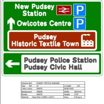 Pudsey to become known as 'historic textile town' thanks to new signs   #Pudsey in #Yorkshire gets recognition for its 700 years of #textile manufacturing with new tourist information road signs    #YorkshireHistory #TextileHistory  https://t.co/5qhr6hSwZL via @WLDispatch https://t.co/VkMwTj2diY
