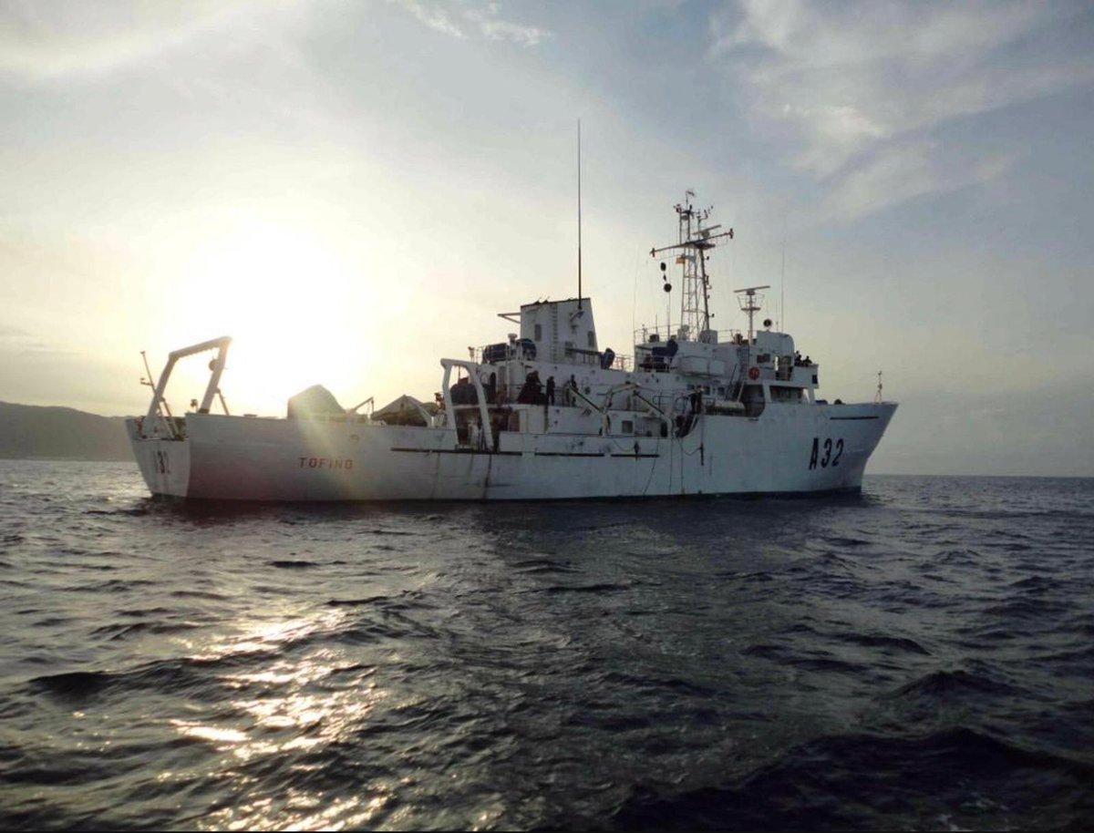 El buque 'Tofiño' de @Armada_esp actualizará la cartografía y las publicaciones náuticas de las zonas costeras de las islas de #GranCanaria, #Tenerife y #LaGomera. https://t.co/p6Yc9G6NNC