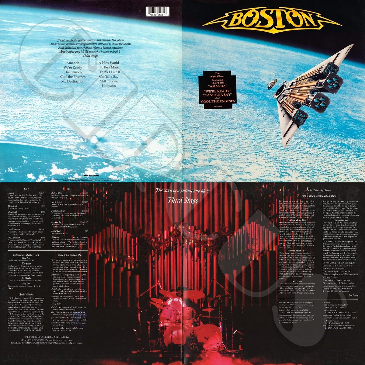 Sep. 23, 1986: #Boston released their #ThirdStage record.  In The Studio  https://t.co/FCamnRXfkD  🛸 Amanda♥️We're Ready♦️Cool The Engines♣️I Think I Like It♠️Hollyann  🖥️ https://t.co/ISW2iZZoox  #rock #music #OTD  = https://t.co/dMW5x1k0FY =  Rate this from 1–10. https://t.co/xVn8H8m3cK