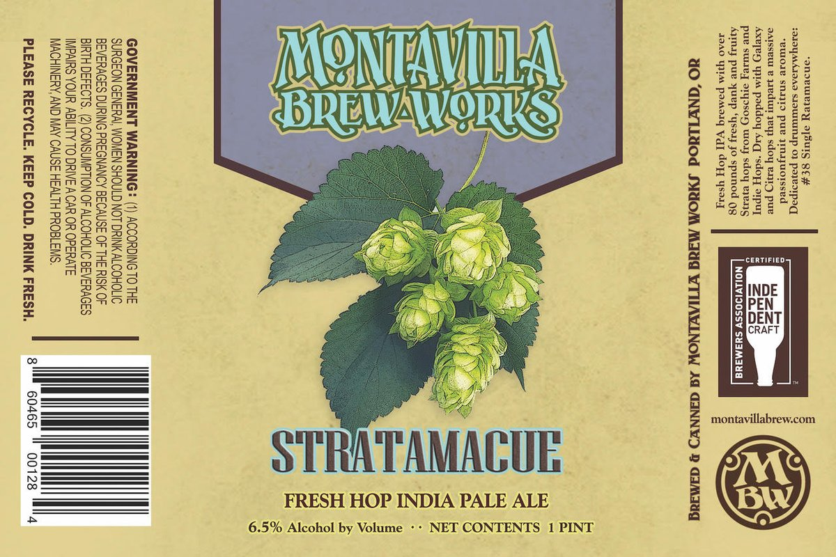 In time for the fall season, Montavilla Brew Works cans a few fan favorites and a new fresh hop beer. Details: https://t.co/lAa757hwe4 #montavillabrewworks #newbeer #freshhopbeer #beerrelease https://t.co/1nFqL3W1xY