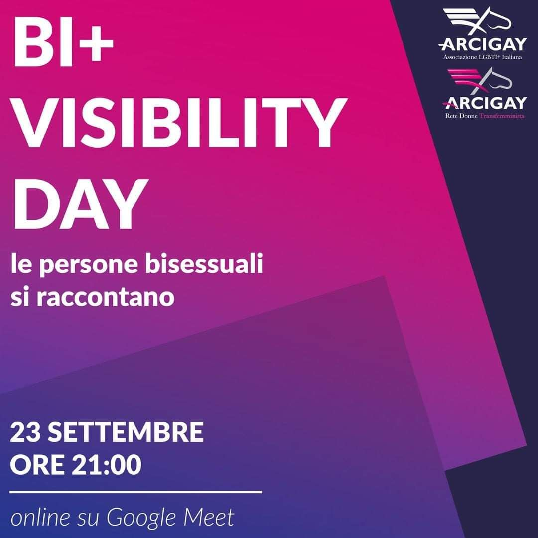 #BiVisibilityDay