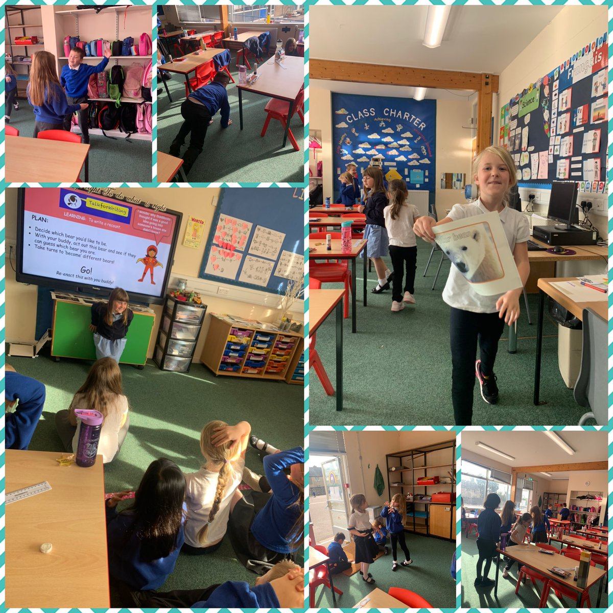 P3 found bears roaming their classroom on Monday,which inspired their #talkforwriting factual leaflet and their enthusiasm for ICT research.They really enjoyed learning and making their worry dolls too which is giving comfort to them #eastendisproud #primary3 #youvegotafriendinme https://t.co/dtCD9XIVeE