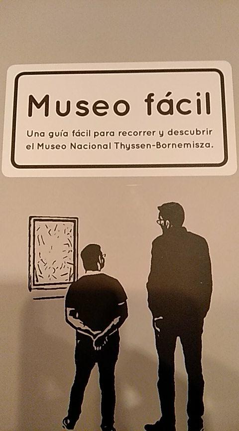"""test Twitter Media - """"Cada cuadro es una vida individual, el museo es una experiencia íntima y personal"""" Disponer de materiales para abrir el museo a todos los públicos es maravilloso https://t.co/mibI99zwYe"""