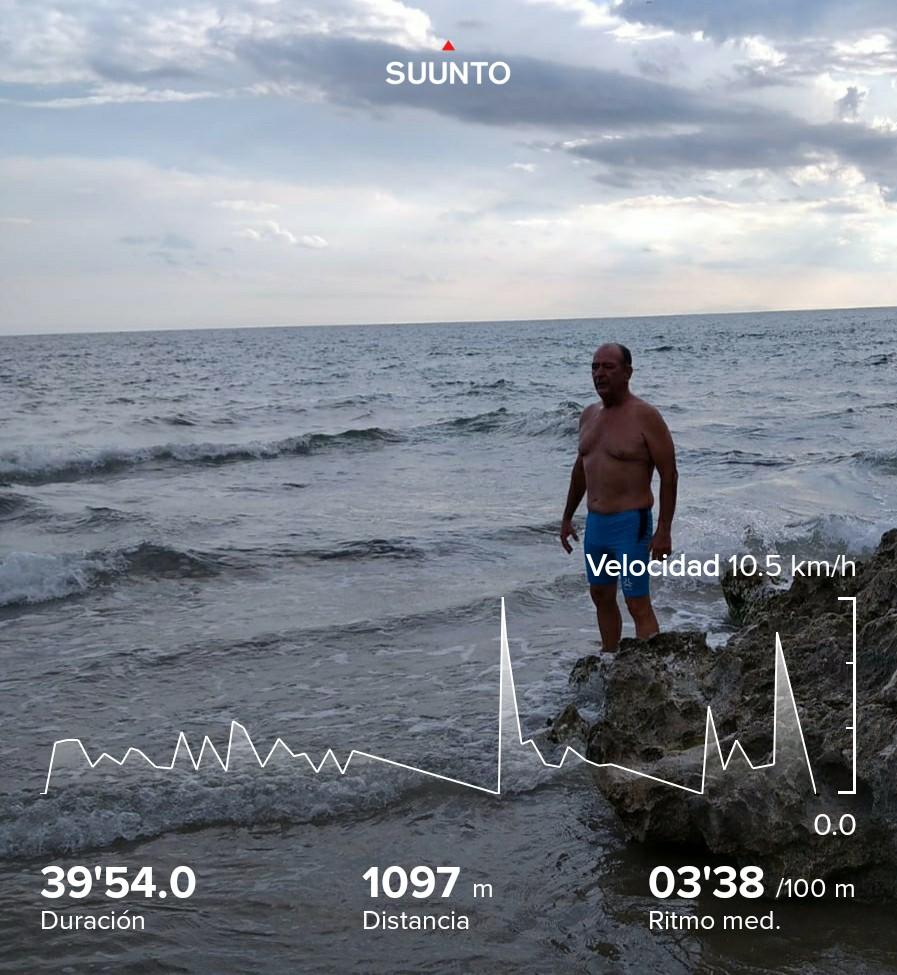 Hoy más relajado un poco de natación que esta tarde toca entreno en pista  #rathe @SailfishSpain @montepenarubia @InverseTeams #influcer  @ASICSspain @kisssalouclub @Suunto1Esp @EKOIcycling @DecathlonES #suunto #Natación en aguas abiertas https://t.co/gS6cRYJWKR https://t.co/5dqz0N4DVP