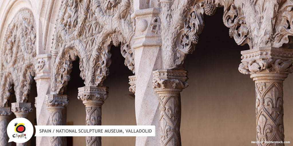 The perfect plan for day 2️⃣ in #Valladolid is a visit to the #NationalSculptureMuseum. It has an impressive collection of pieces from the Middle Ages through to the 19th century and features an impressive courtyard! 😍  👉 https://t.co/Ravmmoiqlk  #BackToSpain #SpainArt https://t.co/9wuX79AWcd