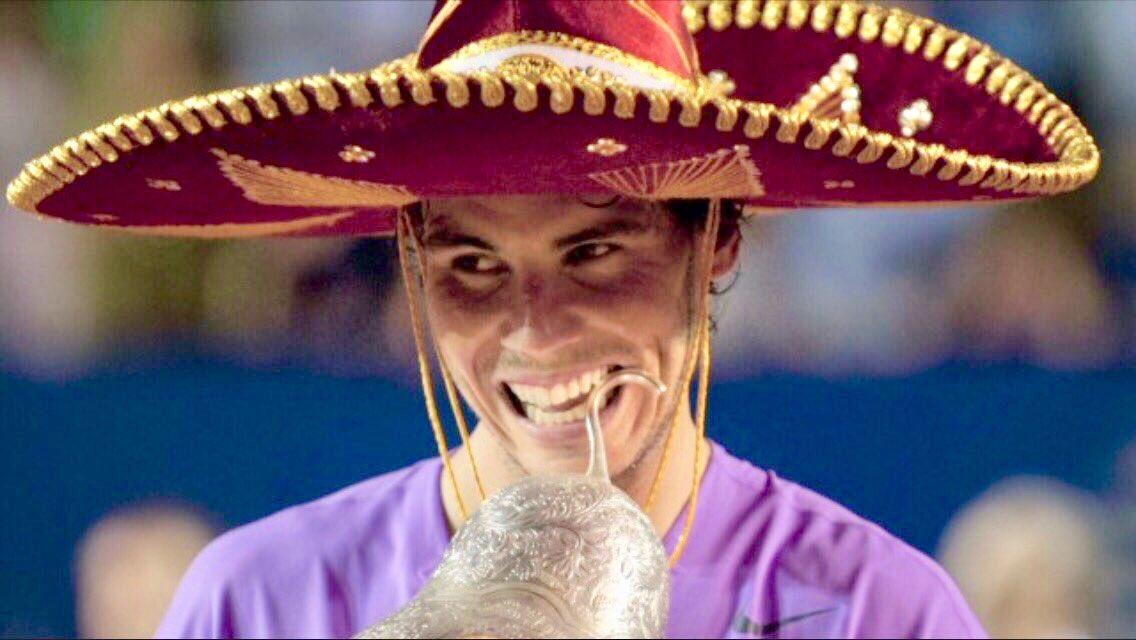 @Tennis @RafaelNadal @SteveTignor Cuz he's King👑 https://t.co/HM9eg45ovI