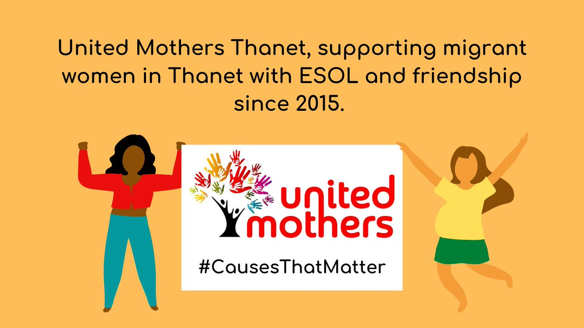 We are incredibly proud to be part of @KentCommunity Foundation's #CausesThatMatter week. For the last five years we have been supporting migrant women in Thanet with our ESOL and community arts programme. We love what we do! #ESOL #Friendship #Thanet https://t.co/QATu5GzmrC