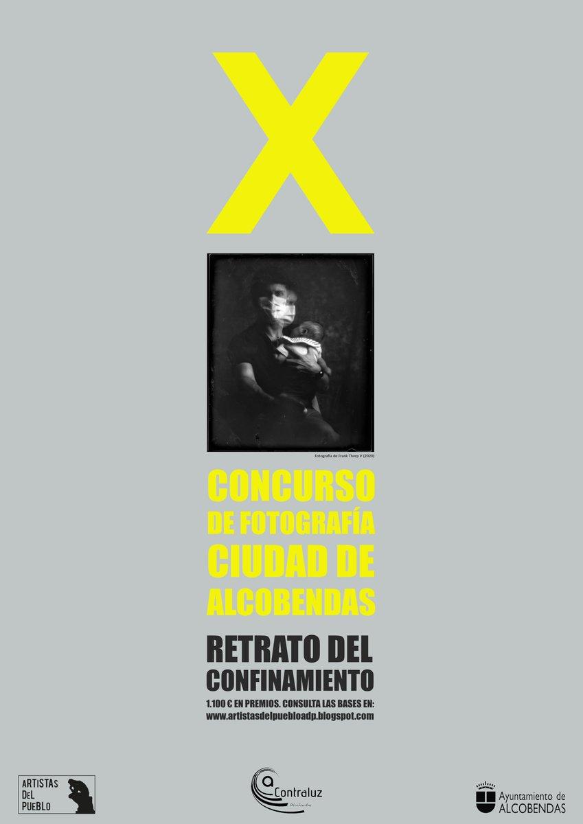 A partir del 1 de octubre y hasta el 27 de noviembre pueden presentarse fotografías al X Concurso de #Fotografía Ciudad de #Alcobendas. Consulta las bases en: https://t.co/4Ybuaemay0  @ARTISTASDP @aacontraluz @PICAAlcobendas @aft50mm https://t.co/cMuh7YSKxU