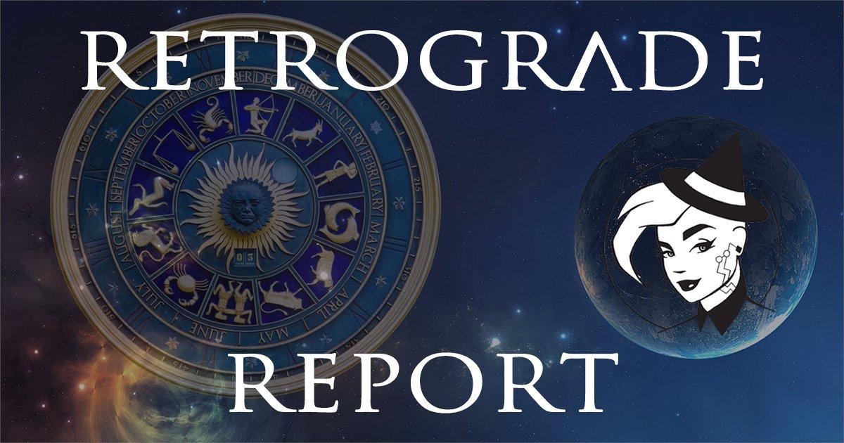 Retrograde Report for 23 September, 2020 https://t.co/fTd8HvNOqj Retrograde Report for 23 September, 2020  There are currently 5 planets in retrograde.  #chipwitch #retrograde #astrology #Mars #Saturn #Uranus #Neptune #Pluto https://t.co/VJa79KpYMZ