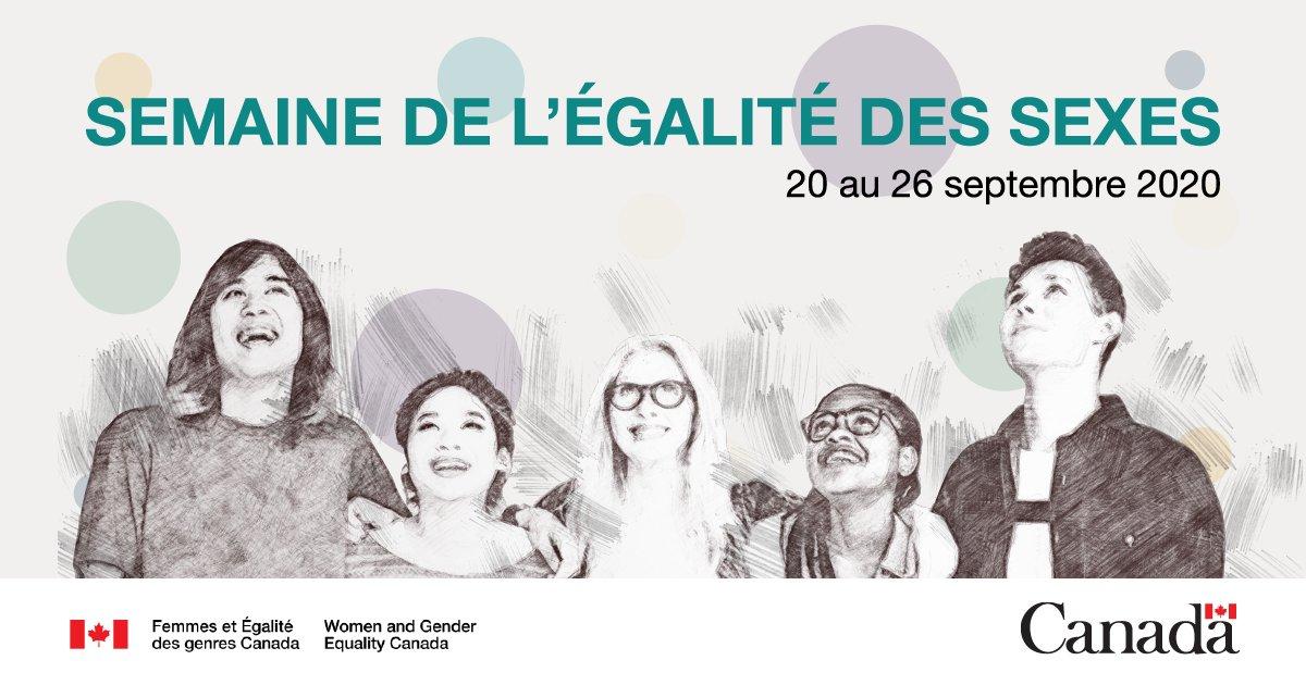 Bonne #SemaineDeLÉgalitéDesSexes!🗣 Atteindre l'égalité des sexes est le meilleur moyen pour 👫#MettreFinÀLaPauvreté 🕊️Établir une paix durable 🧕Promouvoir des sociétés inclusives  📈Obtenir un développement durable  et c'est la bonne chose à faire Partagez si vous êtes d'accord https://t.co/55EN1wYJoF