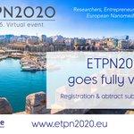 Image for the Tweet beginning: BREAKING NEWS: #ETPN2020 goes fully