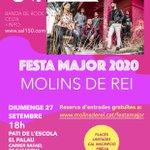 Image for the Tweet beginning: Informatiu #molinsdereialdia: l'església Evangèlica programa